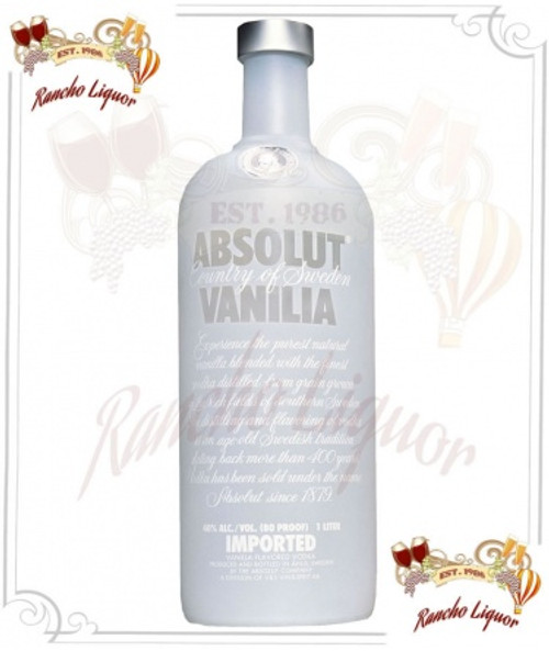 Absolut Vanilla Vodka