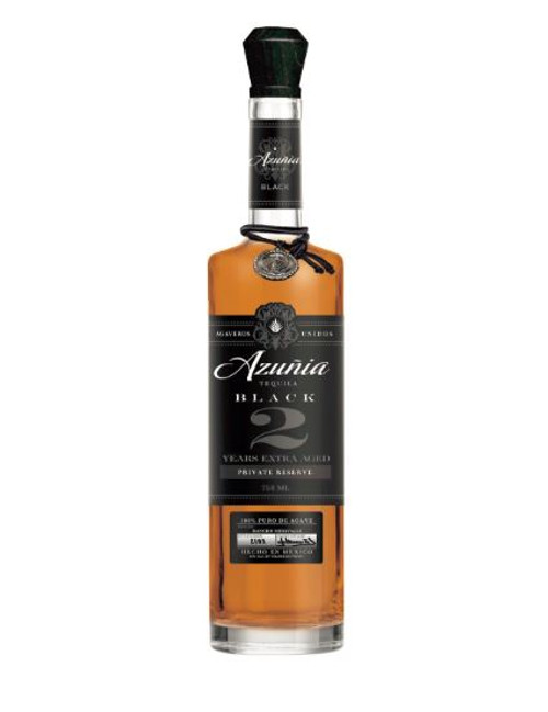 Azunia Black 2 Years Anejo Tequila 750mL