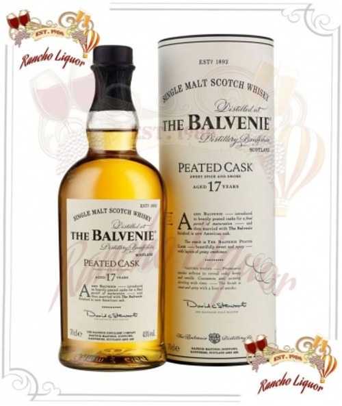 Balvenie 17 Year Single Malt Whiskey