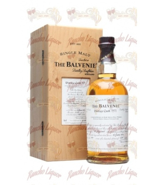 Balvenie 1971 Single Cask Single Malt 750mL