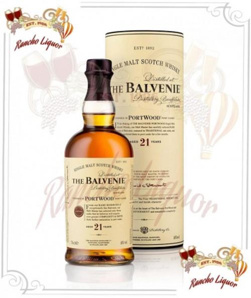Balvenie Portwood 21 Year Whiskey