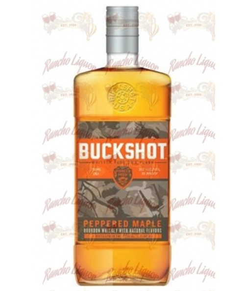 Buckshot Peppered Maple Bourbon Whiskey 750mL