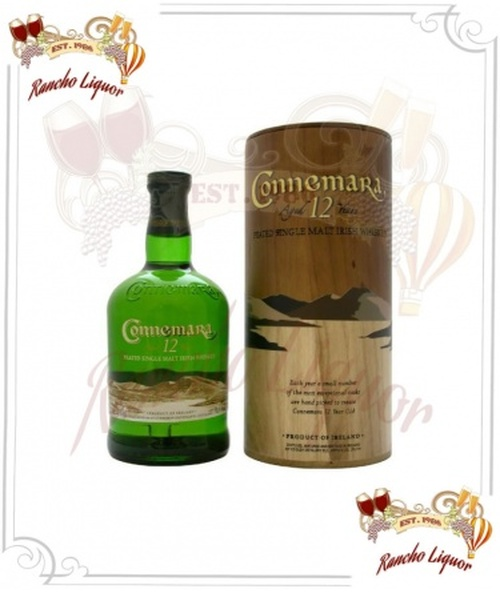 Connemara 12 Year Single Malt Irish Whiskey 750mL