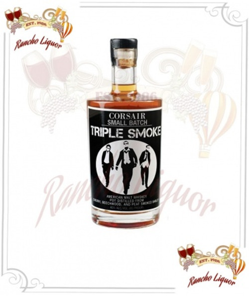 Corsair Small Batch Triple Smoke American Malt Whiskey