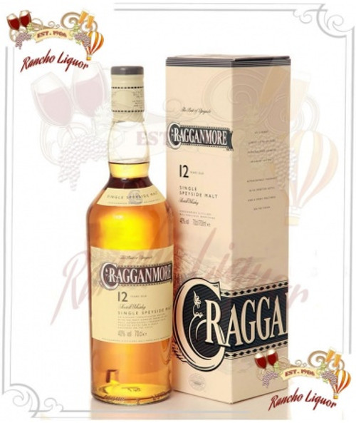 Cragganmore 12 Year Single Whisky