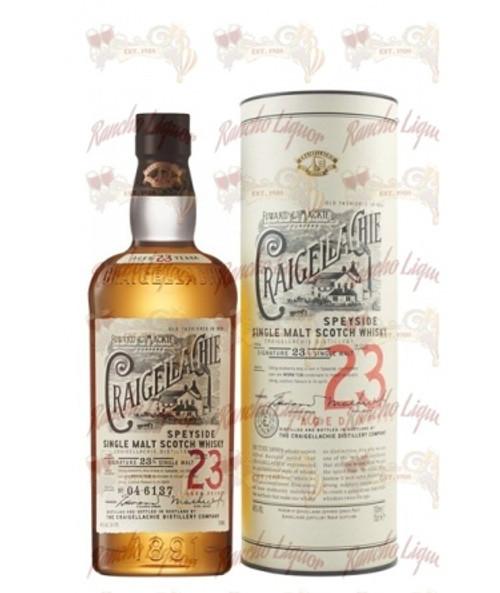 Craigellachie 23 Year Old Single Malt Scotch Whisky 750 mL