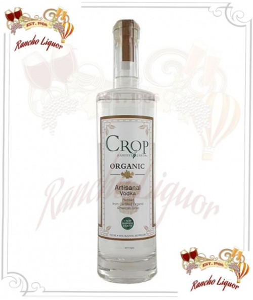 Crop Harvest Earth Artisanal Organic Vodka