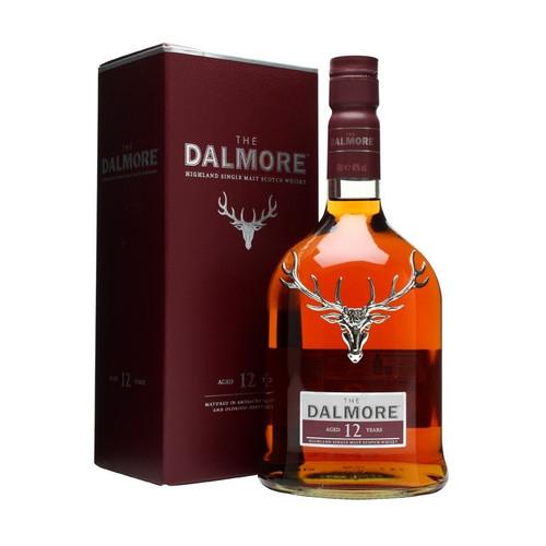 The Dalmore 12 Year Single Malt  Whiskey 750mL