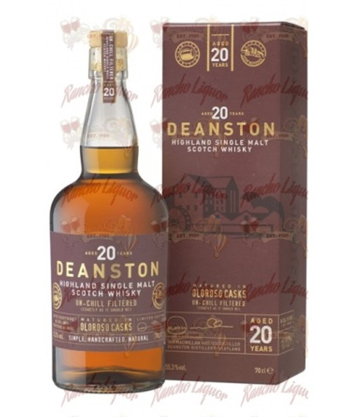 Deanston 20 Yr Old Oloroso Cask Whiskey 750mL