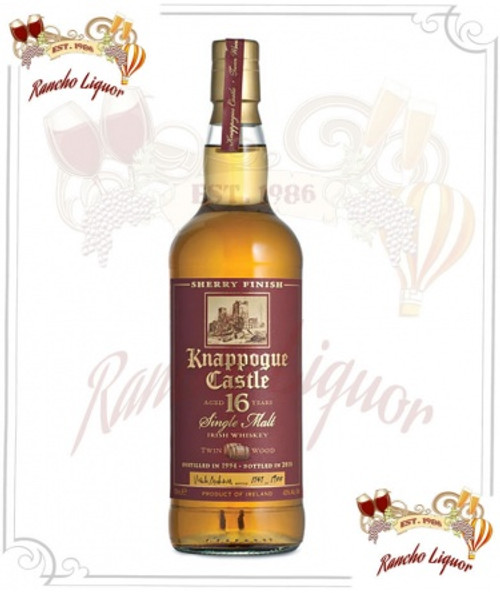 Knappogue 16 Year Irish Whiskey 750mL