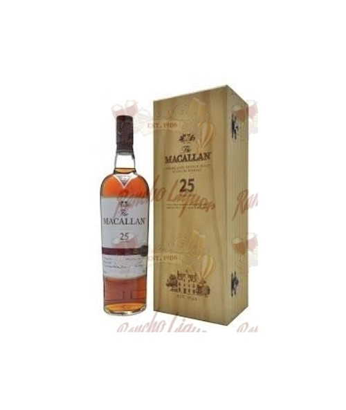 Macallan 25 Year Old Sherry Oak (750.ML.86.Proof)