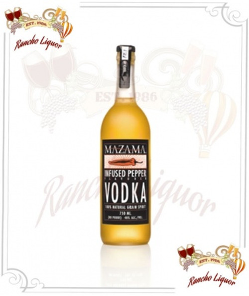 Mazama Infused Pepper Vodka 750mL