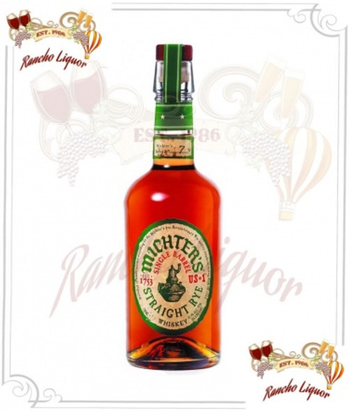 Mitcher's US1 Kentucky Straight Rye 750mL