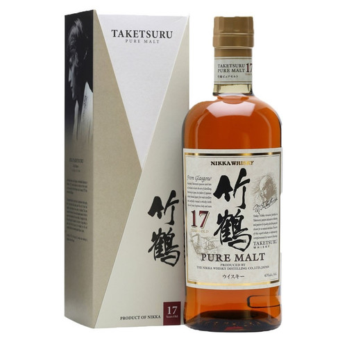 Nikka 17 Year Old Pure Malt Japanese Whisky 750mL