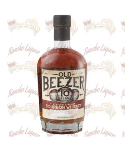 Old Beezer 10 Year Old Kentucky Straight Bourbon Whiskey