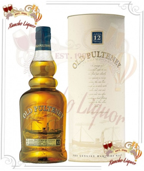 Old Pulteney 12 Year Single Malt Scotch Whisky 750mL
