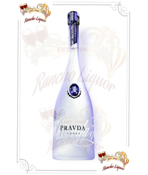 Pravda Vodka 750mL