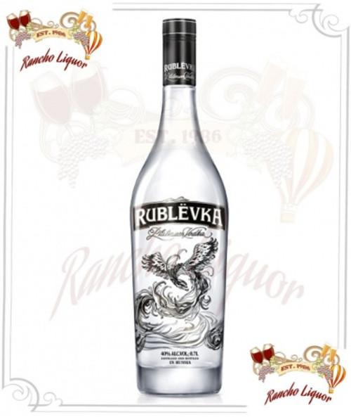 Rublevka Platinum Vodka 750mL