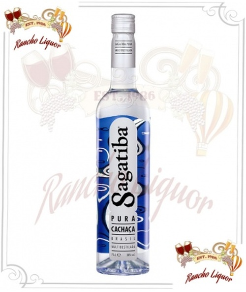 Sagatiba Pura Cachaca Brazilian Rum 750mL