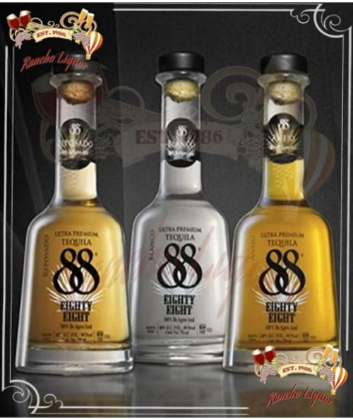 Tequila 88 Combo Pack 750mL