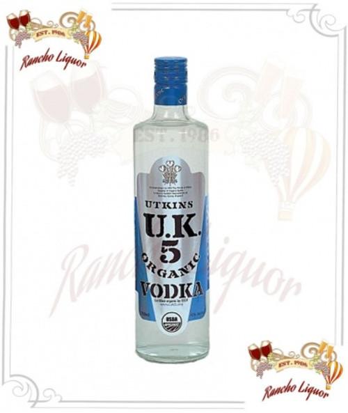 Utkins UK 5 Organic Vodka