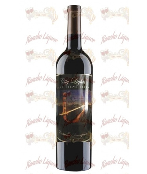 Casa Tiene Vista City Lights Cabernet 750 mL