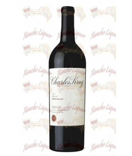 Charles Krug Napa Valley Merlot 750 mL