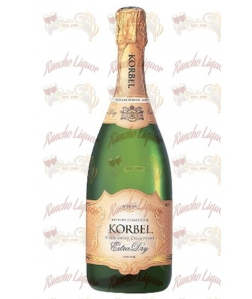Korbel Extra Dry California Champagne 750 m.L.