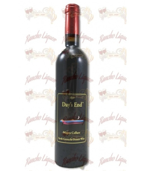 Mapes Cellars Day's End Syrah-Grenache Dessert Wine 750m mL