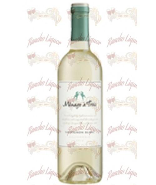 Menage a Trois Sauvignon Blanc 750mL