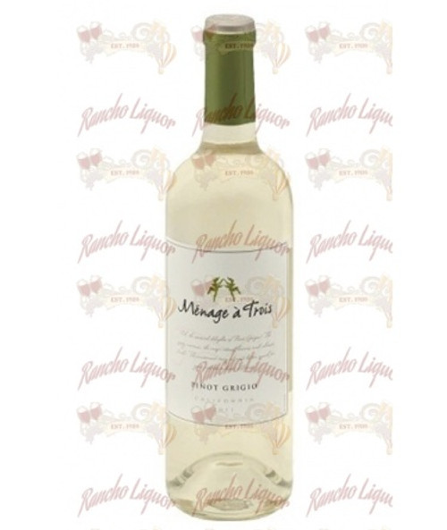 Menage aÿ Trois California Pinot Grigio 750mL
