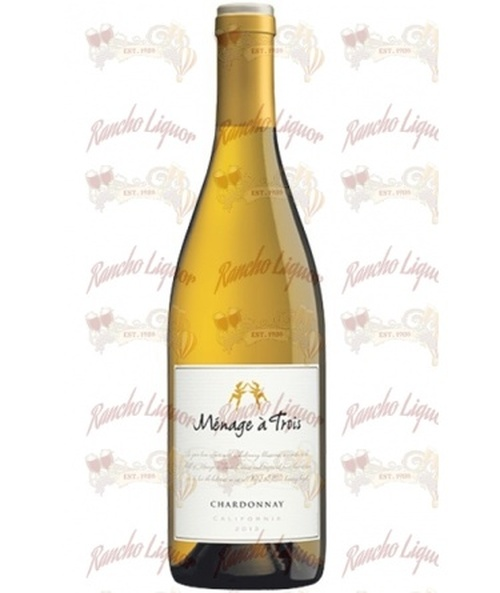 Menage aÿ Trois Chardonnay 750mL