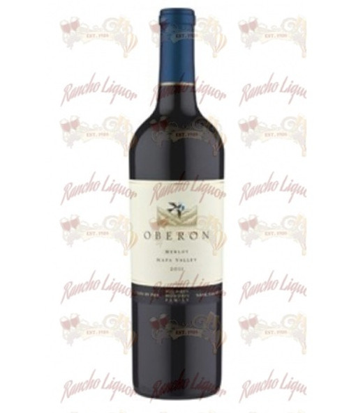 Oberon Merlot Napa Valley 750 mL