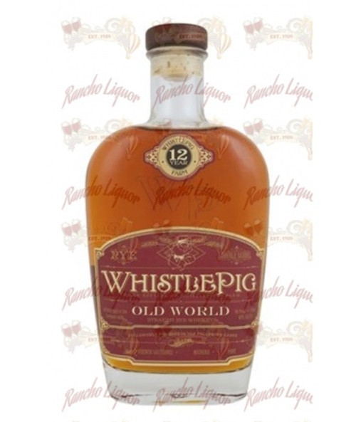 WhistlePig 12 Year Old Rye 750mL