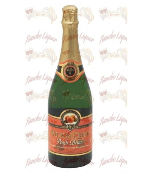Wilson Creek Peach Bellini Sparkling Wine 750 m.L.