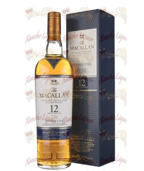 The Macallan Double Cask 12 Year Old Highland Single Malt Scotch Whisky 750mL