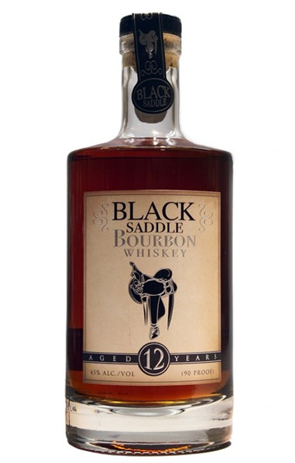 Black Saddle Bourbon 12 Year 750mL