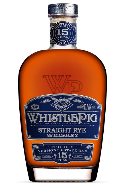 WhistlePig 15 Year Old Straight Rye Whiskey