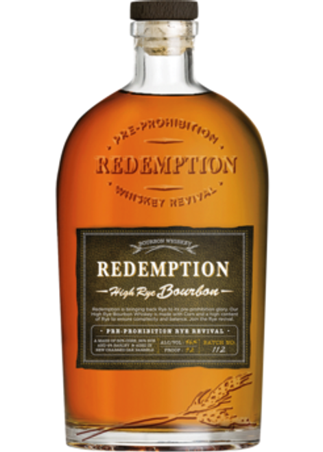 Redemption High Rye Bourbon