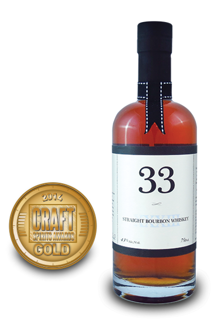 33 Straight Bourbon Whiskey 750mL