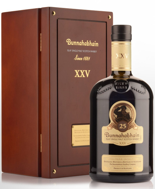 Bunnahabhain 25 Year Old 750mL