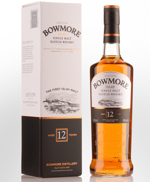 Bowmore 12 Year Old Single Malt Scotch Whisky 750mL