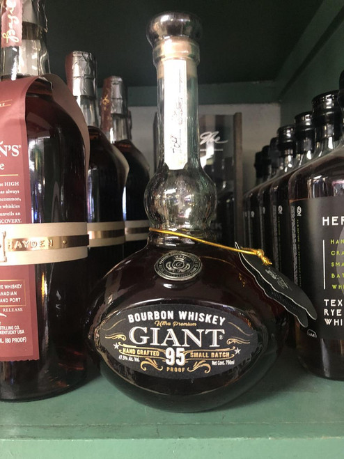 GIANT Texas Small Batch Bourbon Whiskey 750mL
