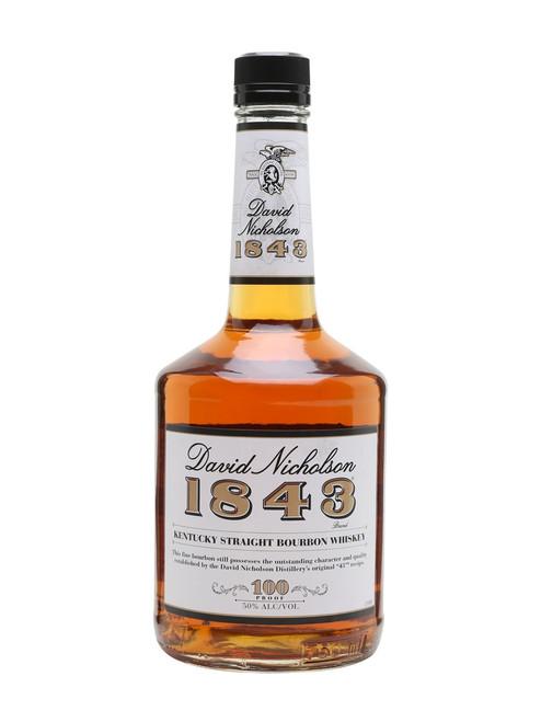 David Nicholson 1843 Bourbon Whiskey 750mL
