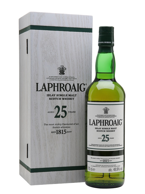 Laphroaig 25 Year Old 750mL