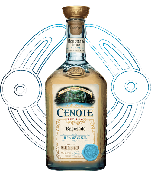 Cenote Tequila Reposado 750mL