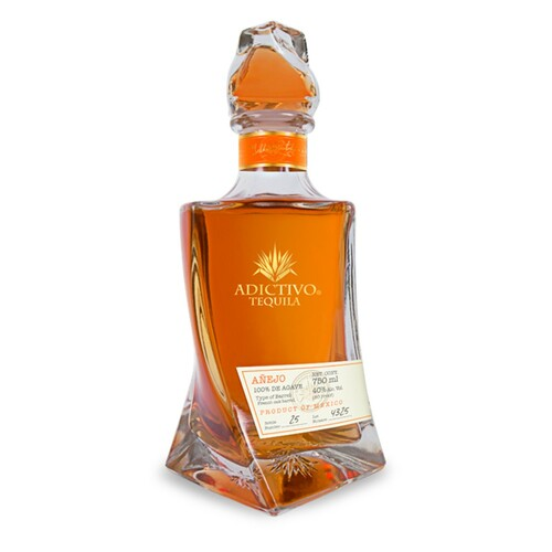 Tequila Adictivo Añejo 750mL