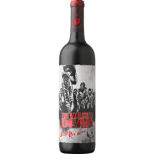 The Walking Dead Wines Blood Red Blend 750mL