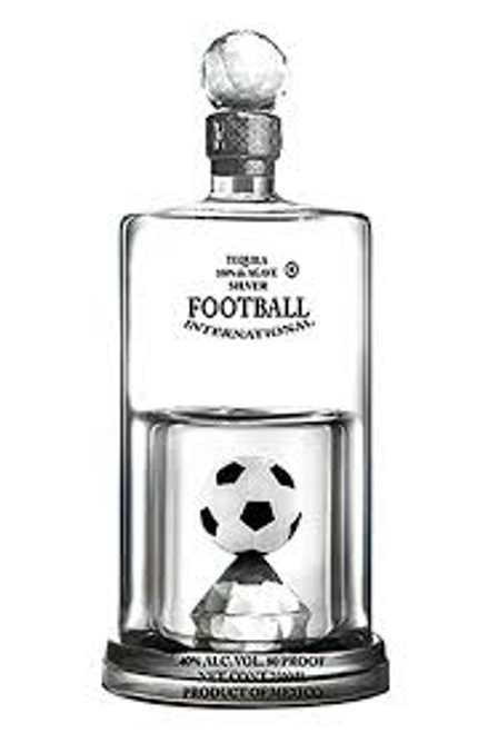 Casino Tequila Azul Silver Soccer International 750mL
