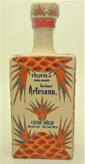 Señor Artesano Entra Añejo Tequila 750mL